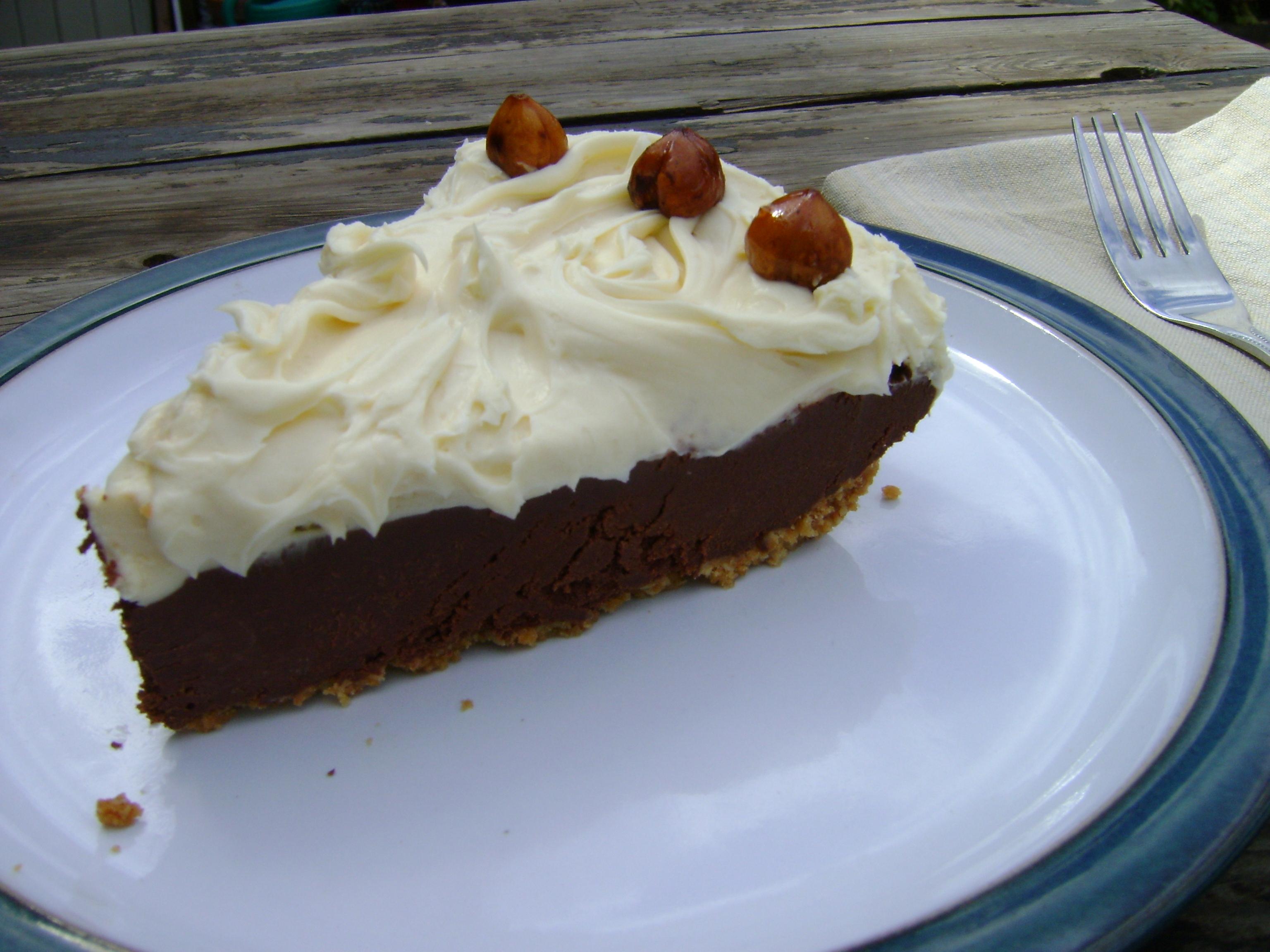 Chocolate Hazelnut Pie With Frangelico We're Baking With Abby Dodge ...