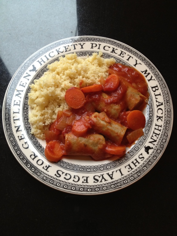 vegetarian sausage casserole madebyjayne.com