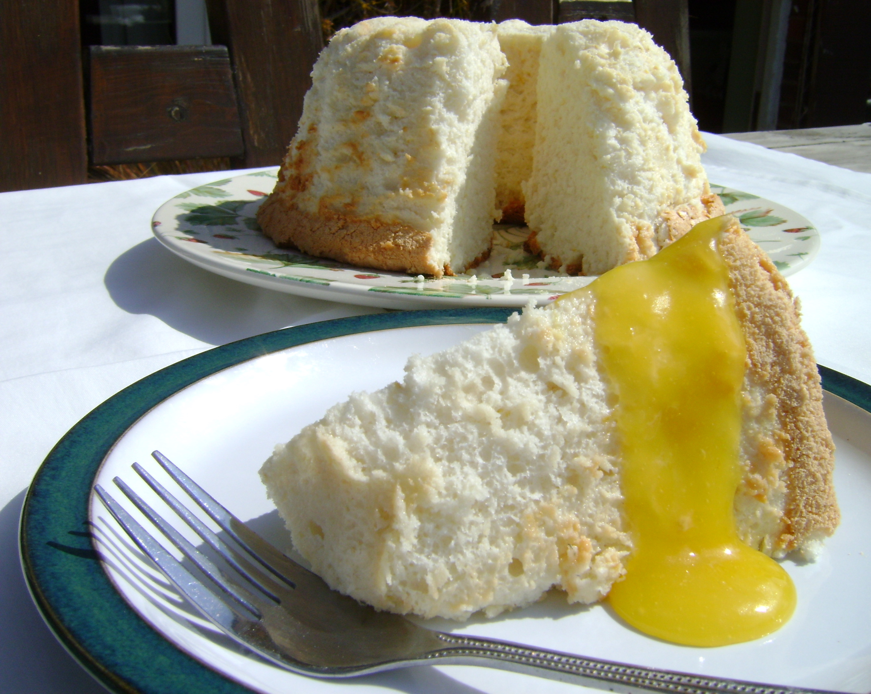Lemon Angel Food Cake Baketogether I