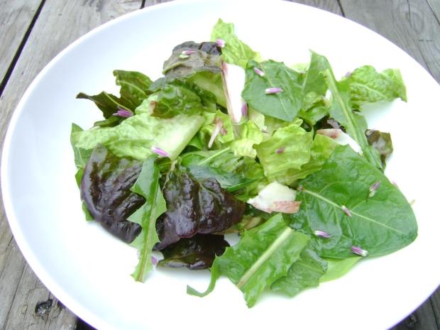 Foraged salad madebyjayne.com