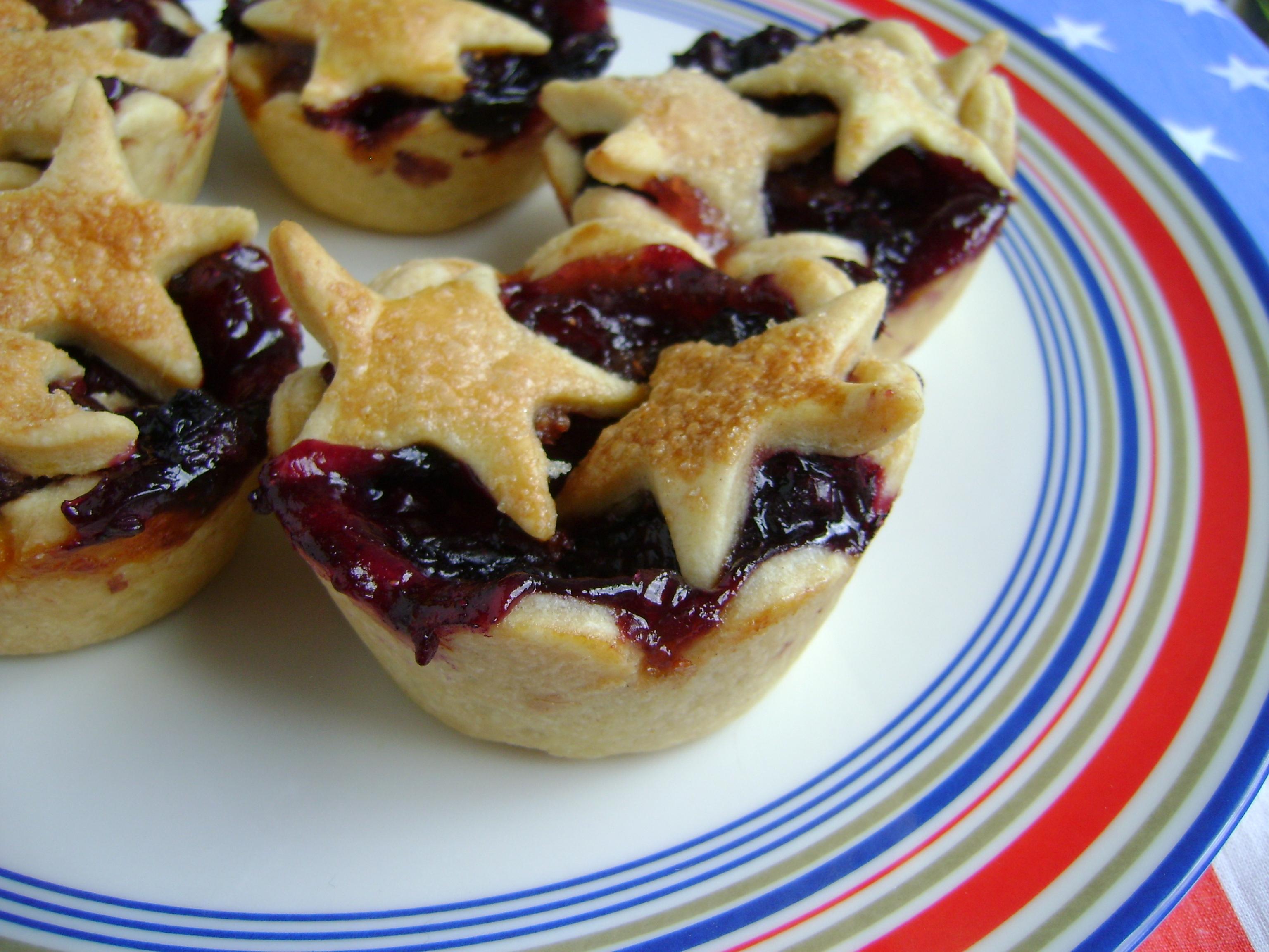 Mini Cherry Berry Pies