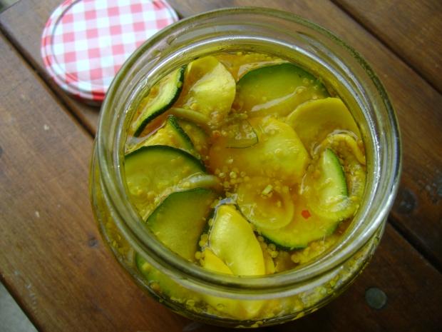 Zucchini Pickles madebyjayne
