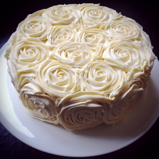 Rose cake madebyjayne