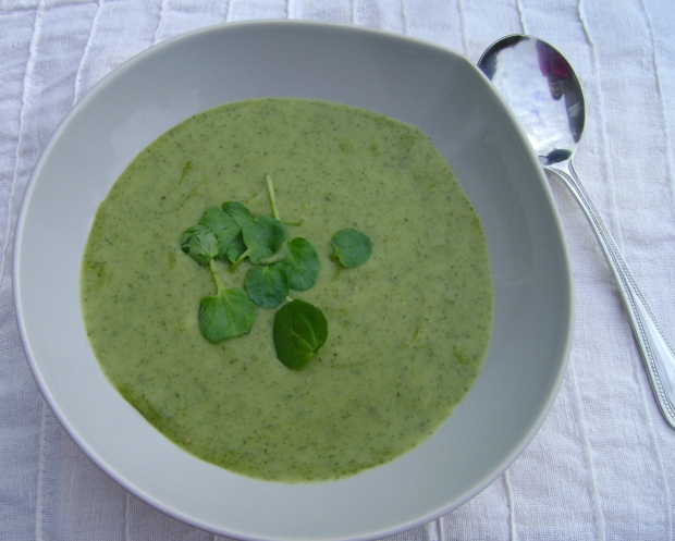 Watercress Soup madebyjayne.com