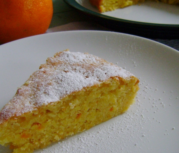 Whole Orange cake madebyjayne.com