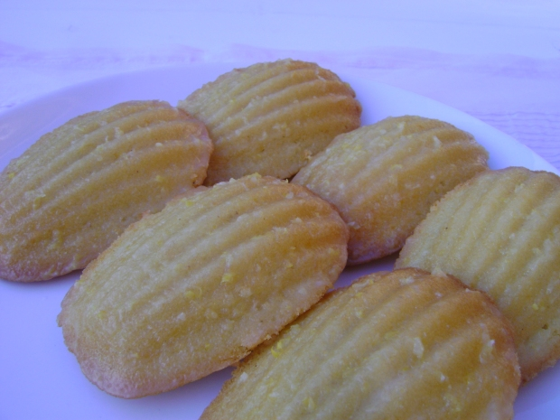 meyer lemon & brown butter madeleines madebyjayne.com