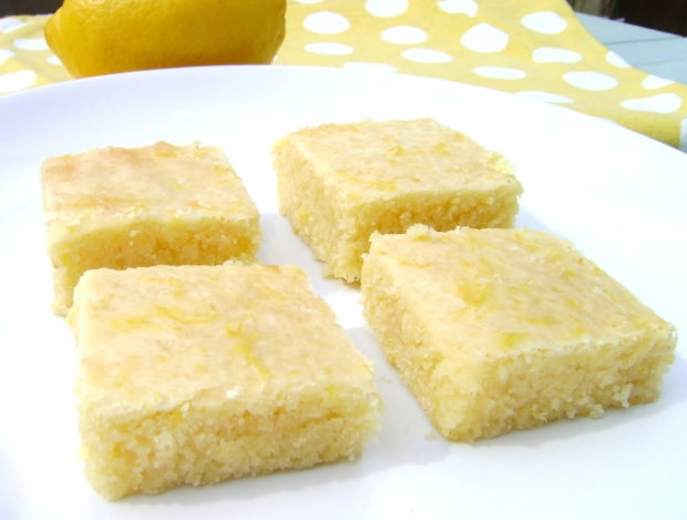 Lemon Brownies madebyjayne.com