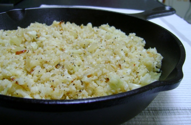 Cauliflower Rice madebyjayne.com