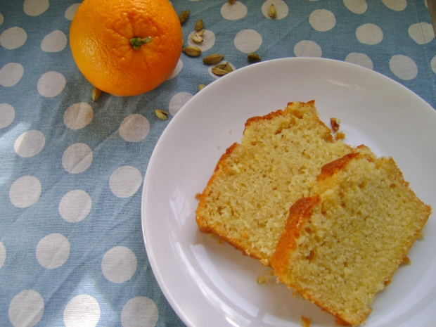 Orange and Cardamom Loaf madebyjayne.com