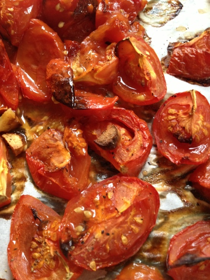 Roasted Tomatoes madebyjayne.com