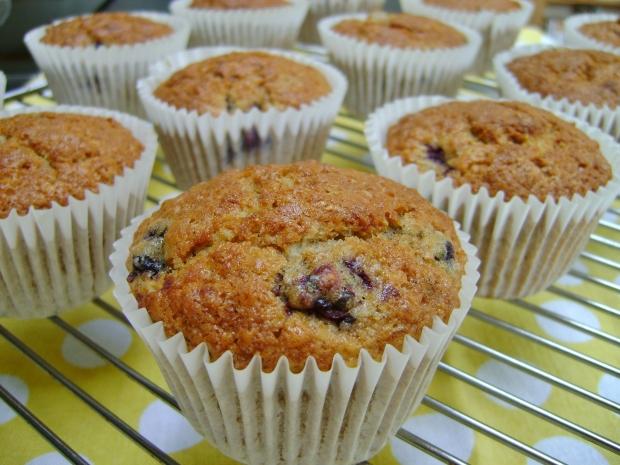 Blackberry Oat Muffins madebyjayne.com