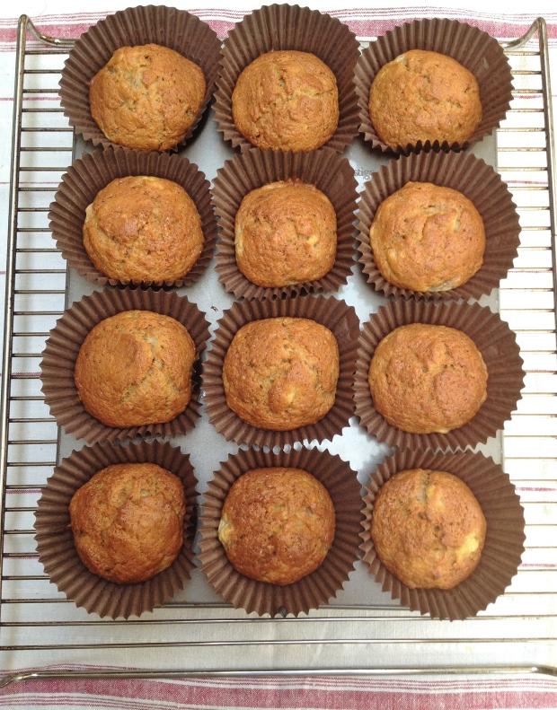 Banana Olive Oil muffins madebyjayne